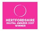 herfordshire digital awards winner